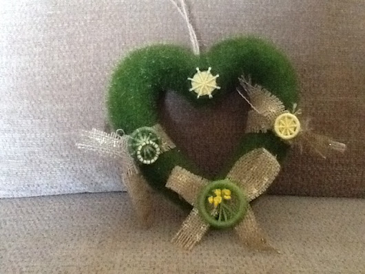 Spring wreath for Easter