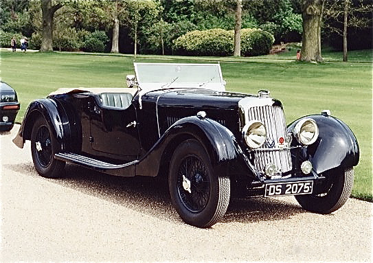 Aston Martin 15/98 Tourer, 1936 г.