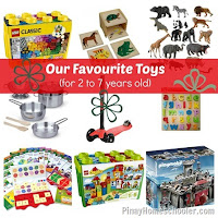 Our Favourite Toys for 2 to 7 Years Old