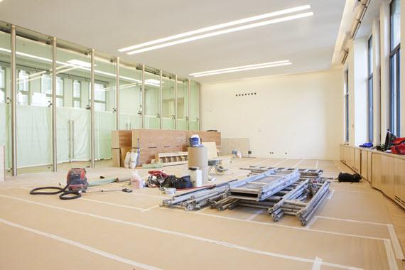 El actual despacho de la alcaldesa en Cibeles se dividirá en tres espacios
