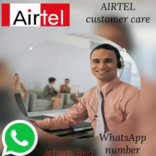 Airtel customer care WhatsApp number.