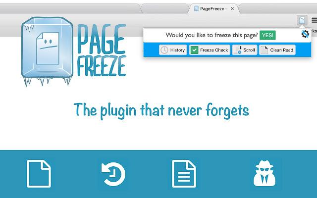 Page Freeze