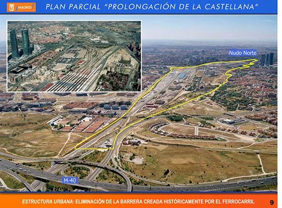 Aprobada inicialmente la nueva ordenación de la prolongación de La Castellana