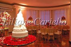 Fotos de decoração de casamento de Casamento Letícia e Ernani no Clube Militar da decoradora e cerimonialista de casamento Liliane Cariello que atua no Rio de Janeiro e Niterói, RJ.