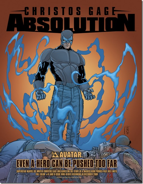 Reseña Comic: Absolution - howtoarsenio.blogspot.com