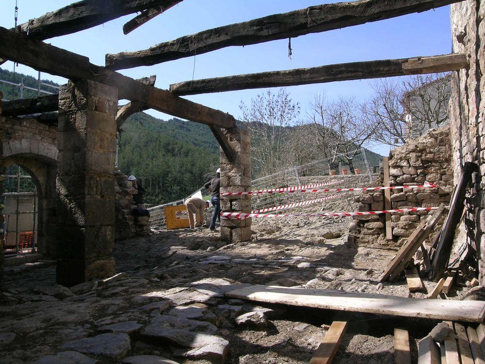 Reconstruccion Torre de Uriz - DSCN8500.JPG
