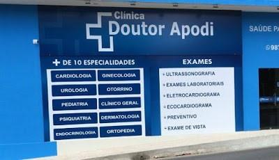 A Clínica Doutor Apodi conta com mais de 15 especialidades médicas