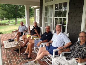 L-R are John Thomasson, Bob Radcliffe, Bob Harter, Steve Ammon, and Chris Needles