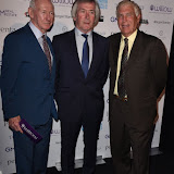 OIC - ENTSIMAGES.COM -  Bob Wilson, Pat Jennings and Sir Trevor Brooking at the  London Football Legends Dinner & Awards in London 3rd March 2016 Photo Mobis Photos/OIC 0203 174 1069