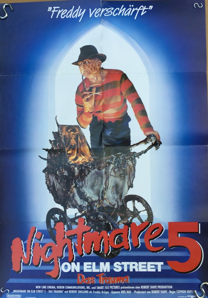 Nightmare 5 german 17x24 #2