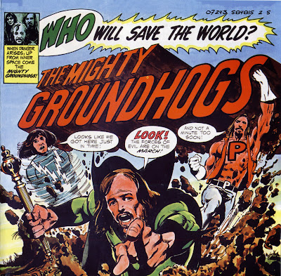 Groundhogs ~ 1972 ~ Who Will Save The World
