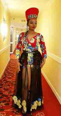 Yemi Alade's MAMA AFRICA fashion