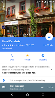 Stars For My Saved Places Are Not Visible On The Map In Google - Will my us android use google maps in copenhagen