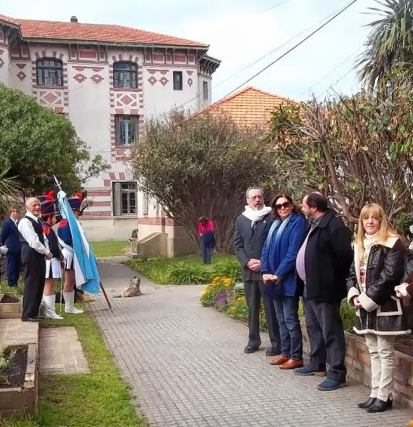 Hogar Raimondi La secretaria de Gobierno, Ana Asa