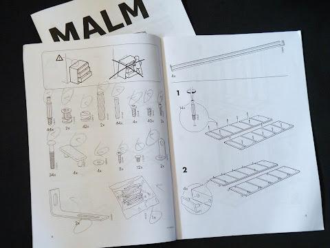IKEAの説明書はローカライズされていません