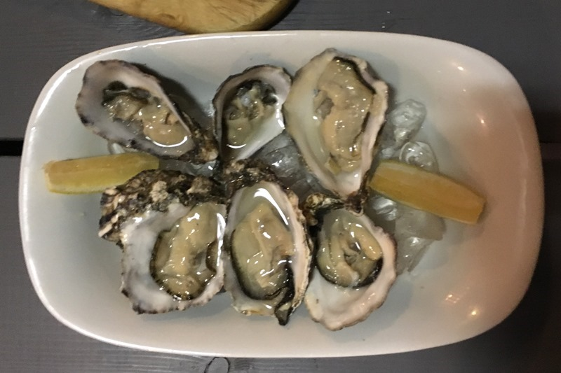 Genuine Whitstable Oysters at East Coast Dining Room