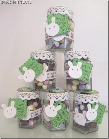 Easter Bunny Sweetie Jars