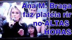 Mulher que pare tem leite, igual vaca, diz Ana Maria Braga no Altas Horas kkk