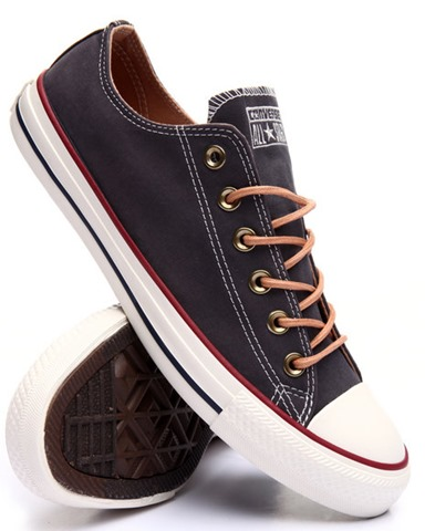 converse navy ox peached canvas