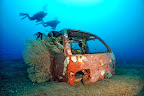 A Suzuki Cab is also welcome as an artificial reef.