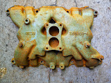Used 2 barrel intake 1953-mid 1955 264-322  50.00
