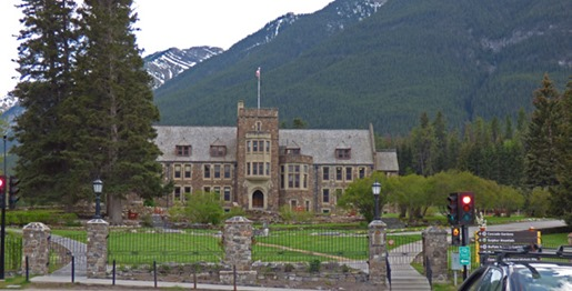 Administration building in Cascade Gardens for the Banff National Park