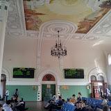 Vladivostok : la gare du transsibérien, 20 juin 2011. Photo : J. Michel