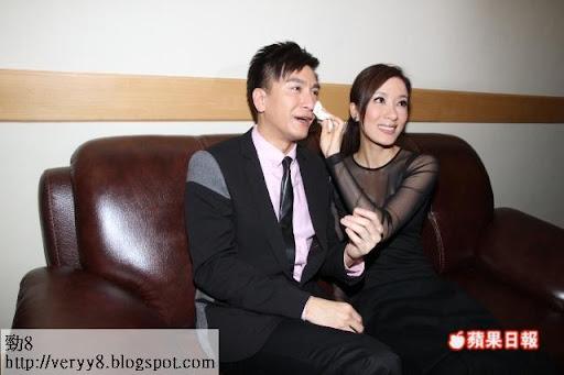 馬國明同楊怡