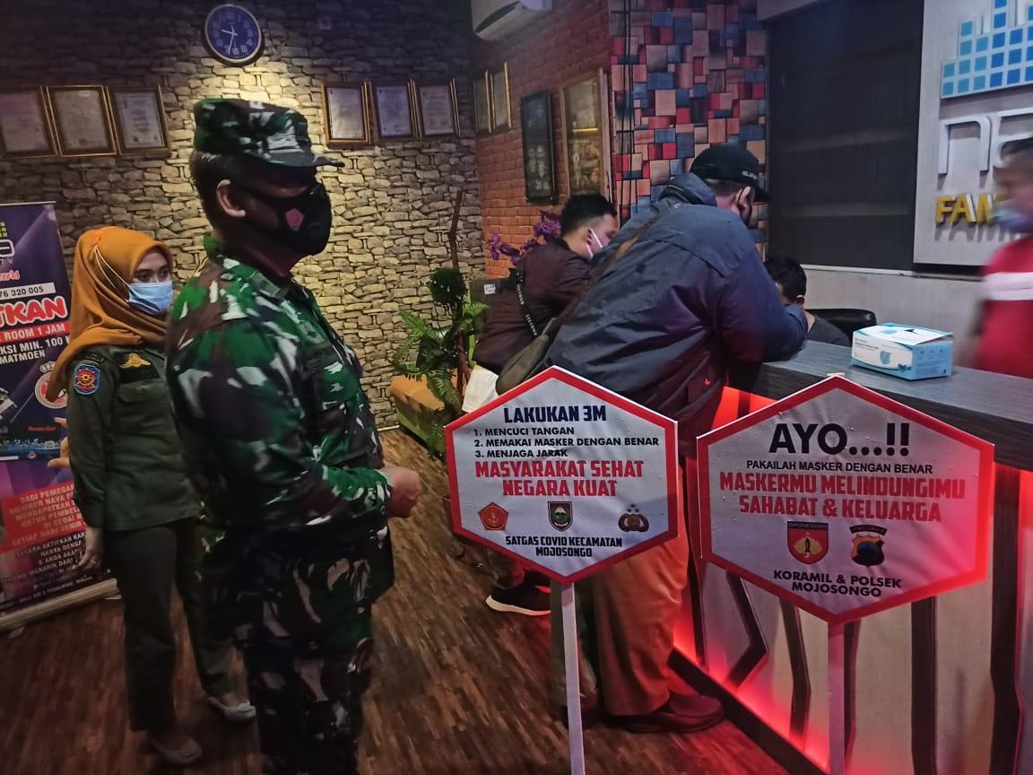 Petugas Gabungan Kabupaten Boyolali Secara Mobile Terus Himbau Warga