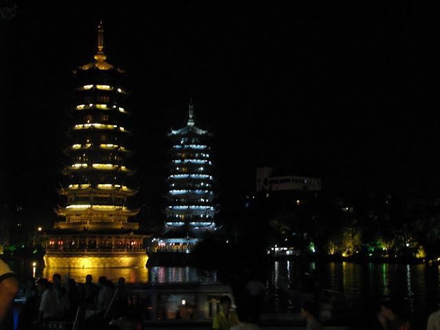 Sun and Moon Pagodas