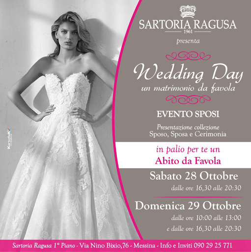 7f66cc8f2767 Sartoria Ragusa - Atelier Sposa Sposo Cerimonia Uomo Donna