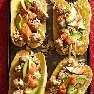 Torta de Albondigas (Mexican Meatball Subs)