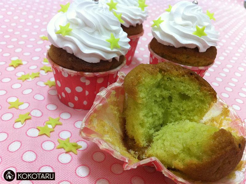 cupcake lá dứa
