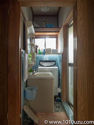 1畳のコンパクトすぎる洗面所