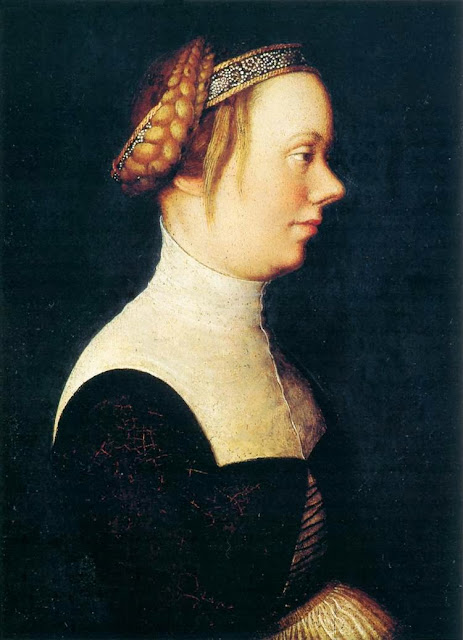 Hans Holbein the Elder - Portrait of a Woman