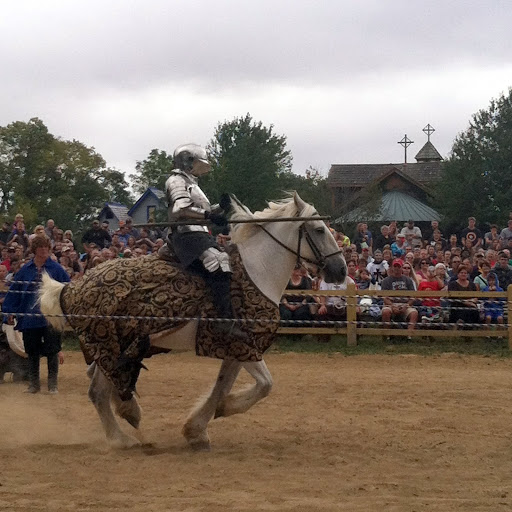 K is for knight. From the Ohio Renaissance Festival, A-Z