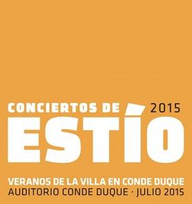 Conciertos de Estío, en Conde Duque del 2 al 18 de julio 2015