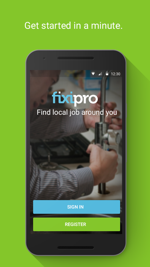 Fixipro partner- screenshot