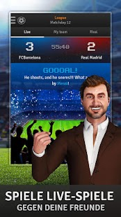 Golden Manager – Fußballspiel Screenshot