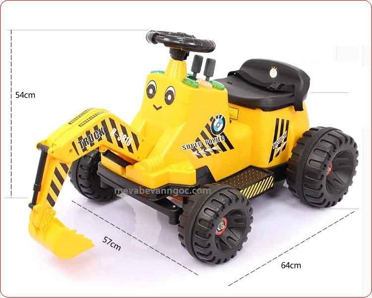 Xe máy xúc điện cho trẻ em 5818A