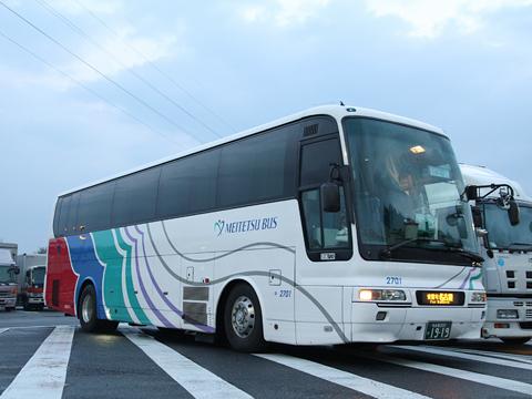 名鉄バス「青葉号」 2701 恵那峡SAにて その2
