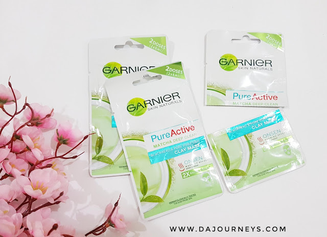 [Review] Garnier Pure Active Matcha Deep Clean Clay Mask