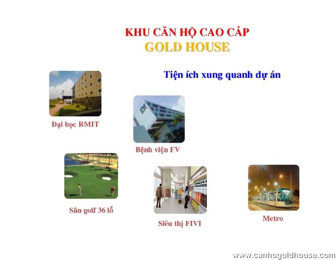 Căn hộ Gold House Hoàng Anh An Tiến, Nhà Bè chính thức chào bán