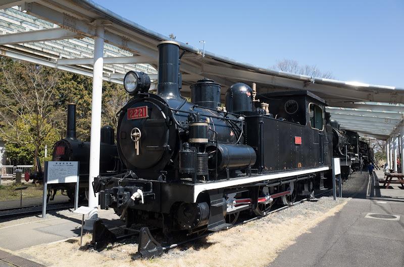 140322 青梅鉄道公園展示中の110形ほか