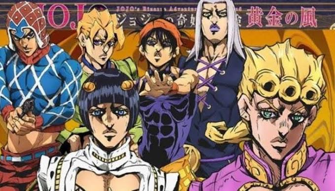 jojo's Bizarre Adventure: Golden Wind estrena su doblaje latino en Netflix Japón