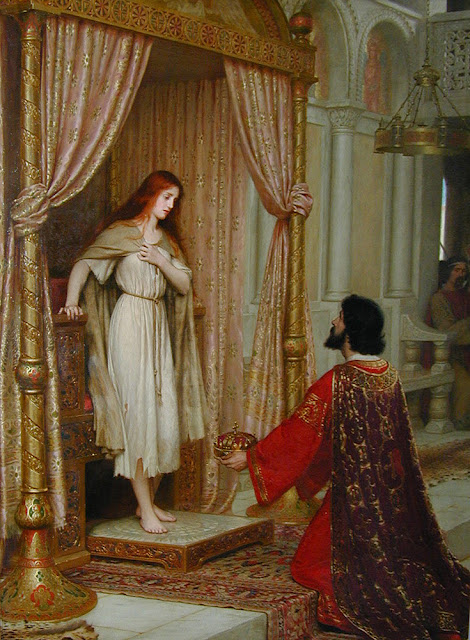 Edmund Blair Leighton - The King and the Beggar-maid