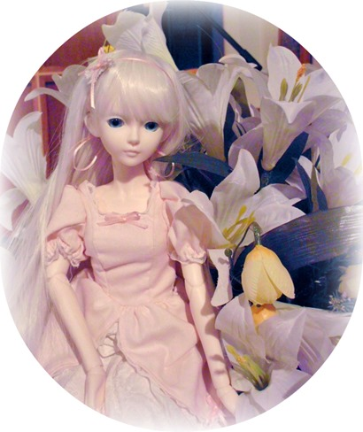 Happy Easter from Hikaru the Ball Jointed Doll