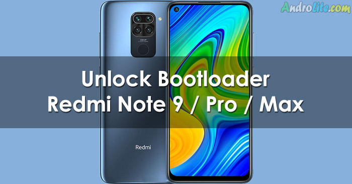 Cara UBL Xiaomi Redmi Note 9 Series