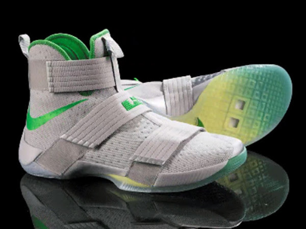 Oregon Ducks LeBron Soldier 10 PE That Nobody Wore Last Night