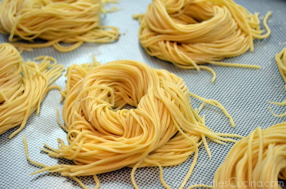How to Make Spaghetti with KitchenAid® via KatiesCucina.com